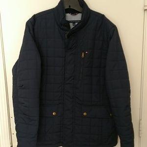 LN Tommy Hilfiger Navy Winter Barn Coat XL